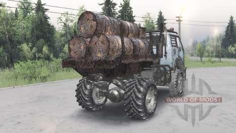MAZ-5429 v1.2 para Spin Tires