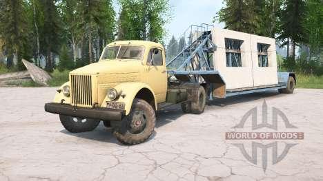 GAZ-51 para Spintires MudRunner
