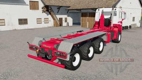 MAN TGS hooklift para Farming Simulator 2017