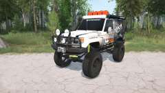 Toyota Land Cruiser Hard Top (J71) LX lifted para MudRunner