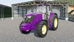 John Deere 6135M〡6145M〡6155Ⰼ para Farming Simulator 2017