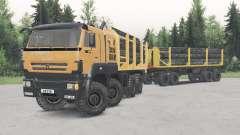 KamAZ-652Ձ8 para Spin Tires