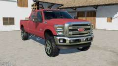 Ford F-350 Super Duty Doble Cabina Ձ011 para Farming Simulator 2017
