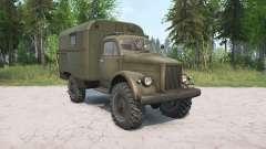 El GAZ-63 para MudRunner