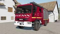 Iveco EuroCargo Feuerwehr para Farming Simulator 2017