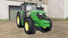 John Deere 6135M〡6145M〡6155Ɱ para Farming Simulator 2017
