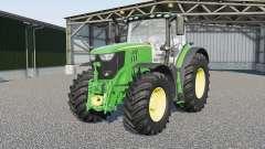 John Deere 6135R〡6145R〡6155R〡6175R〡6195R〡6215R para Farming Simulator 2017