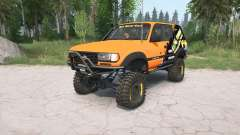 Toyota Land Cruiser 80 VX (FZJ80G) 1995 lifted para MudRunner