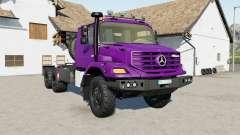 Mercedes-Benz Zetros 3643 6ᶍ6 para Farming Simulator 2017