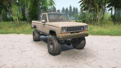 Ford Ranger Regular Cab Styleside 1983 para MudRunner