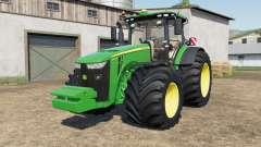 John Deere 8245R-8400Ɽ para Farming Simulator 2017