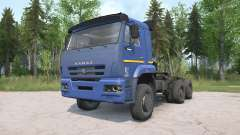 KamAZ-652Ձ para MudRunner