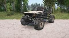 Jeep Cherokee 2-door (XJ) crawler para MudRunner