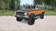 Jeep Grand Wagoneer 1991 para MudRunner