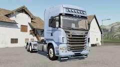 Scania R730 hooklifƫ para Farming Simulator 2017