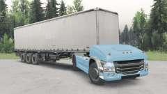 No tripuladas camión Scania 4x4 v2.1 para Spin Tires
