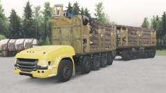 No tripuladas camión Scania 10x10 para Spin Tires