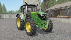 John Deere 6115M〡6135M〡6155M para Farming Simulator 2017