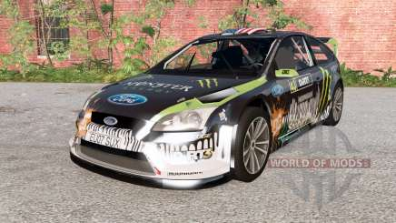Ford Focus RS WRC (DA3) 2010 para BeamNG Drive