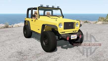 Ibishu Hopper Full-Time 4WD v1.0.2 para BeamNG Drive