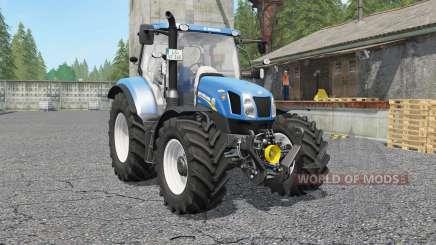 New Holland T6.140 & Ƭ6.160 para Farming Simulator 2017