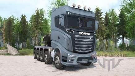 Scania R1000 10x10 para MudRunner