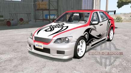 Lexus ES 300 (XE10) Ձ001 para BeamNG Drive