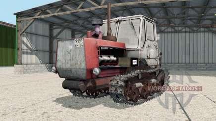T-150-05-09 con una cuchilla para Farming Simulator 2017
