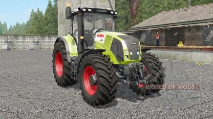 Claas Axion 810〡830〡8ⴝ0 para Farming Simulator 2017