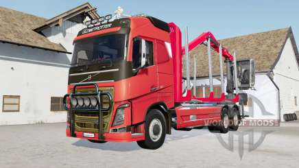 Volvo FH16 750 timber truck para Farming Simulator 2017