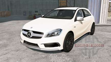 Mercedes-Benz A 45 AMG (W176) 2013 para BeamNG Drive