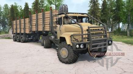 KrAZ-260V para MudRunner