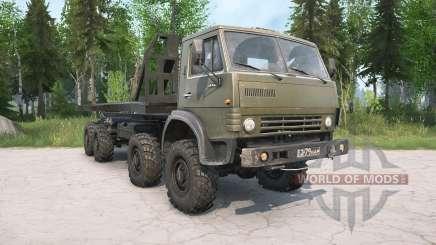 KamAZ-63501 Multilift para MudRunner