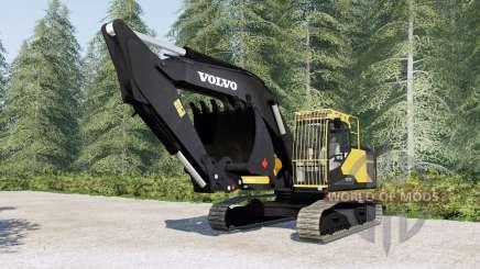 Volvo ECろ00E para Farming Simulator 2017
