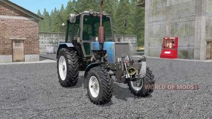 MTZ-Belarús 1025 con el KUN para Farming Simulator 2017