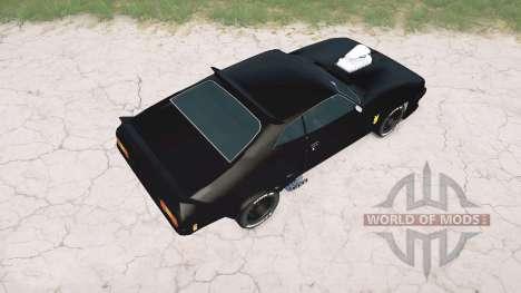 Ford Falcon GT Pursuit Special V8 Interceptor para Spintires MudRunner