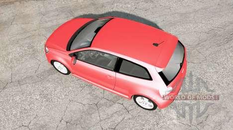 Volkswagen Polo GTI 3-door (Typ 6R) 2010 v1.02 para BeamNG Drive