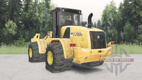 New Holland W170C para Spin Tires