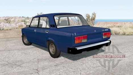 VAZ-2107 Lada para BeamNG Drive