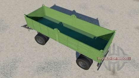 Gosa dump trailer para Farming Simulator 2017