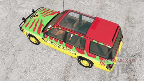 Gavril Roamer Tour Car Beamic Park v3.1.5 para BeamNG Drive