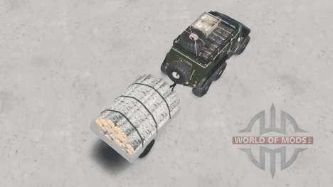 Trekol VEGA para Spin Tires