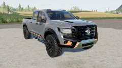 Nissan Titan Warrior 2016 para Farming Simulator 2017