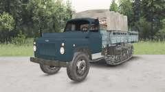 GAZ-53 mitad de la pista para Spin Tires