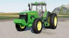John Deere 8000-serieᵴ para Farming Simulator 2017