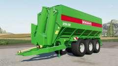 Bergmann GTW 4ろ0 para Farming Simulator 2017