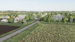 El pueblo de Berry v2.3 para Farming Simulator 2017