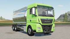 MAN TGX 26.640 Tanker para Farming Simulator 2017