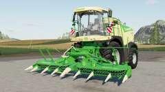 Krone BiG X 580 sound update para Farming Simulator 2017