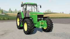 John Deere 7010-serieᵴ para Farming Simulator 2017